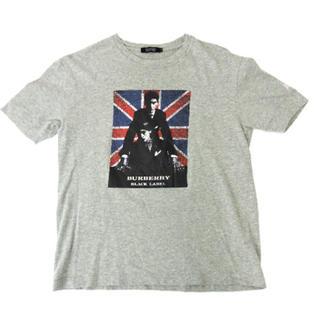 バーバリーブラックレーベル(BURBERRY BLACK LABEL)のBurberry  BLACK LABEL     プリント    Tシャツ(Tシャツ/カットソー(半袖/袖なし))