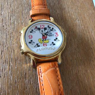 ミッキーマウス(ミッキーマウス)のLORUS ミッキー 腕時計(腕時計)