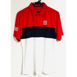 ユニクロ(UNIQLO)の【未使用】ユニクロ 錦織圭モデル ポロシャツ 全仏オープン Mサイズ 限定モデル(ウェア)