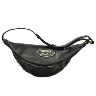 バンソン(VANSON)の玉手箱様専用 ファニーパック ブラック ウエストバッグ/ボディバッグ(ボディーバッグ)