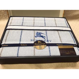 バーバリー(BURBERRY)の新品 長期保管品 Burberrys バーバリー タオルケット 西川産業 日本製(タオルケット)