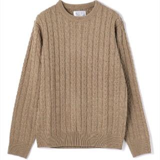 エルエイチピー(LHP)の【新品未使用♡】L.H.Pのカギ編みニット Lサイズ(ニット/セーター)