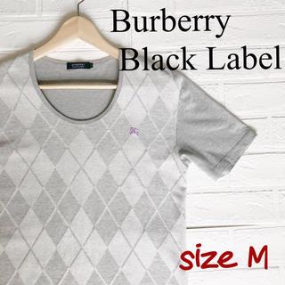 バーバリーブラックレーベル(BURBERRY BLACK LABEL)のバーバリーブラックレーベル Tシャツ カットソー 2(M)(Tシャツ/カットソー(半袖/袖なし))