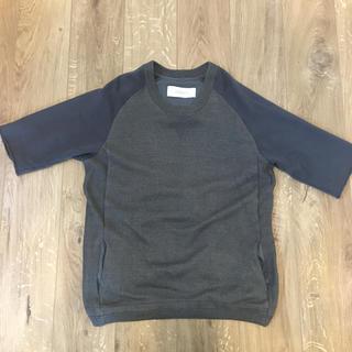 ヤエカ(YAECA)のCURLY FOLKSY QS SWEAT(Tシャツ/カットソー(半袖/袖なし))