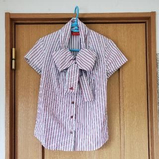 ヴィヴィアンウエストウッド(Vivienne Westwood)のリボンブラウス(シャツ/ブラウス(半袖/袖なし))