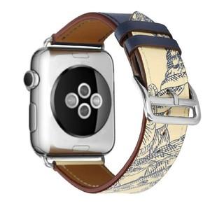 アップルウォッチ(Apple Watch)の【新品】42/44㎜ Apple Watch用 本革ベルト 互換品(その他)
