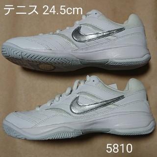 ナイキ(NIKE)のテニスS 24.5cm ナイキ ウィメンズ コート ライト(シューズ)