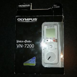 オリンパス(OLYMPUS)のOLYMPUS VN-7200(ポータブルプレーヤー)