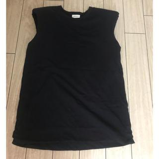 ドリスヴァンノッテン(DRIES VAN NOTEN)のDRIES VAN NOTEN  19SS パワーショルダーTシャツ(Tシャツ(半袖/袖なし))