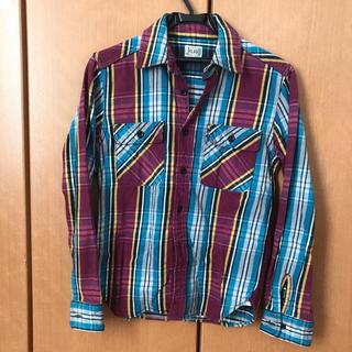 フェローズ(PHERROW'S)の好配色 JELADO ジェラード チェックシャツ ネルシャツ(シャツ)