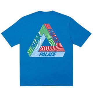 シュプリーム(Supreme)のPalace Tri-Tex T-Shirt Blue M(Tシャツ/カットソー(半袖/袖なし))