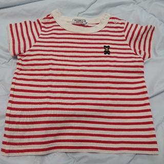 DOUBLE.B - MIKI HOUSE  ダブルB  BくんワンポイントTシャツ  70