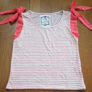 ミスティウーマン(mysty woman)のmysty woman タンクトップTシャツ(Tシャツ(半袖/袖なし))