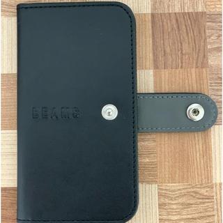 ビームス(BEAMS)のBEAMS(折りたたみ式携帯ケース)(iPhoneケース)
