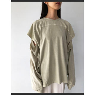 トゥデイフル(TODAYFUL)のTODAYFUL スリーブスリットロングT(Tシャツ(長袖/七分))