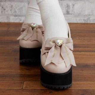 リズリサ(LIZ LISA)のリズリサ厚底(ローファー/革靴)