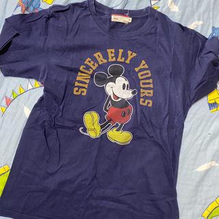 ミッキーマウス(ミッキーマウス)のディズニー ミッキーTシャツ(Tシャツ(半袖/袖なし))