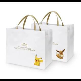 ポケモン(ポケモン)の新品 ガトーフェスタハラダ ポケモン ショッピング バッグ デザイントート(トートバッグ)
