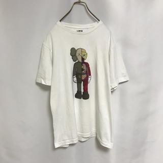ユニクロ(UNIQLO)のユニクロ Tシャツ メンズ カットソー カウズ L(Tシャツ/カットソー(半袖/袖なし))