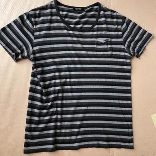 バーバリーブラックレーベル(BURBERRY BLACK LABEL)のバーバリー ブラックレーベル ボーダー ポケットTシャツ 三陽商会(Tシャツ/カットソー(半袖/袖なし))