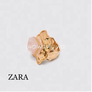ザラ(ZARA)の新品 完売品 ZARA ストーン リング(リング(指輪))