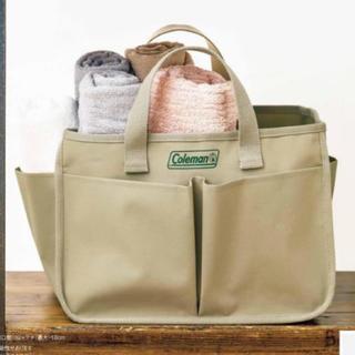 コールマン(Coleman)のInRed インレッド 2020年 8月号 コールマン ハンドル付き収納ボックス(ファッション)