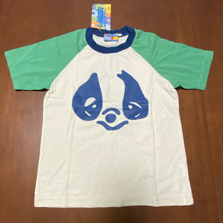 エコレッテ(E-COLETTE)の新品 パンダフェイス Tシャツ 130 エコレッタ(Tシャツ/カットソー)