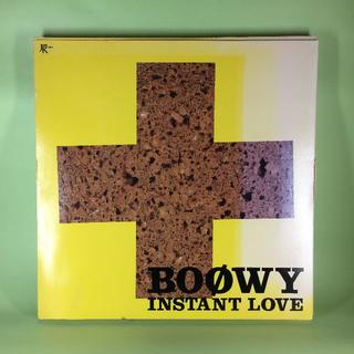 BOOWY INSTANT LOVE 限定CD(ポップス/ロック(邦楽))