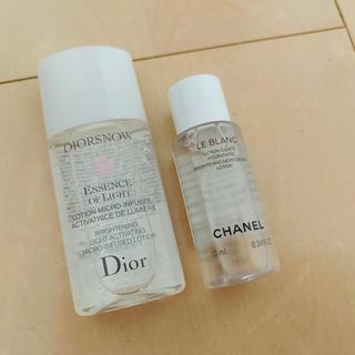 CHANEL - ディオール❤︎シャネル❤︎薬用化粧水2点セット
