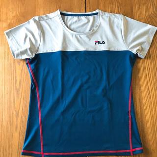 フィラ(FILA)の【新品・未使用】FILA スポーツ用Tシャツ(L)(ウェア)