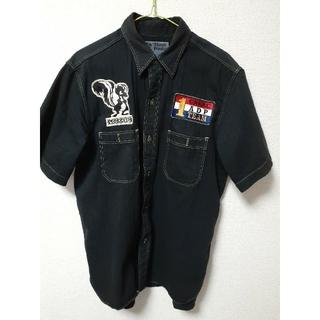 バズリクソンズ(Buzz Rickson's)のバズリクソンズ スカンクワークス 半袖シャツ Lサイズ(シャツ)
