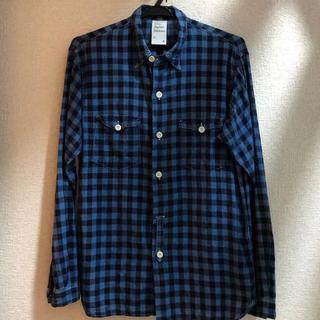ドレステリア(DRESSTERIOR)の『Violet Buffalo Wallows』ネルシャツ チェックシャツ M(シャツ)