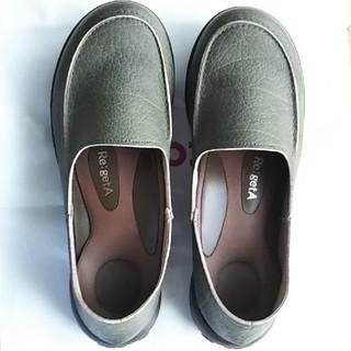 リゲッタ(Re:getA)のRe: getA リゲッタ ローファー 日本製 オリーブ M(ローファー/革靴)