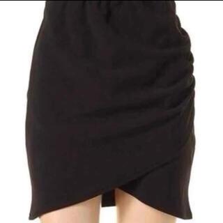 ダチュラ(DaTuRa)のDaTuRa クロス シャーリング スカート(ミニスカート)