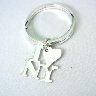 ティファニー(Tiffany & Co.)のティファニー 925 I love New York キーリング[g213-9](キーホルダー)