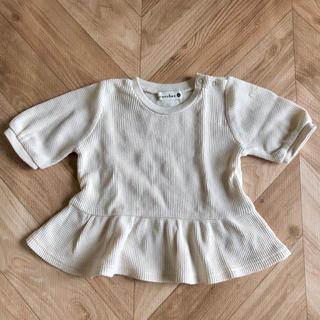 ブランシェス(Branshes)のブランシェス 女の子用 ワッフル素材 トップス(Tシャツ)