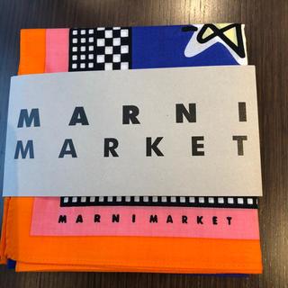 マルニ(Marni)のマルニマーケット スターリーナイト バンダナ ハンカチ(バンダナ/スカーフ)