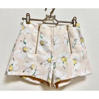 ダズリン(dazzlin)のダズリン マーガレットショートパンツ 花柄ショートパンツ ピンク(ショートパンツ)