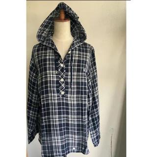 バーバリー(BURBERRY)のBURBERRY バーバリー チェック柄 プルオーバーシャツ size:42(シャツ/ブラウス(長袖/七分))