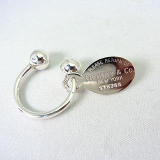 ティファニー(Tiffany & Co.)のTIFFANY/ティファニー 925 タグ キーリング[g235-8](キーホルダー)
