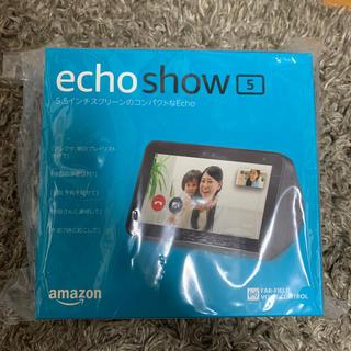 エコー(ECHO)の新品未開封 Amazon Echo Show 5 チャコール(スピーカー)