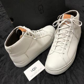 アグ(UGG)の【新品未使用】UGG アグ ハイカットスニーカー ブーツ 超軽量 白 28cm(スニーカー)