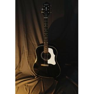 エピフォン(Epiphone)のEpiphone AJ-45ME EB ebony black(アコースティックギター)