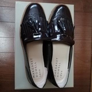 マーガレットハウエル(MARGARET HOWELL)の【しーちゃん様専用】マーガレットハウエル ローファー 23.5cm ブラウン(ローファー/革靴)