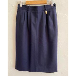アイグナー(AIGNER)のAIGNER アイグナー スカート ウール100% サイズ40(ひざ丈スカート)