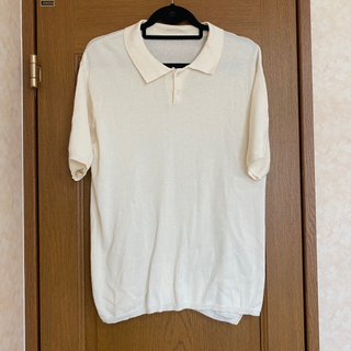 vintage summer knit polo(ポロシャツ)