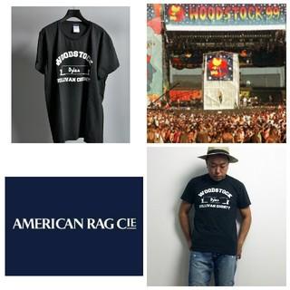 アメリカンラグシー(AMERICAN RAG CIE)の【ウォッシュ加工/生地が最高】ウッドストックbyアメリカンラグシーTシャツ(Tシャツ/カットソー(半袖/袖なし))