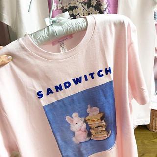 ケイティー(Katie)の♡ Fancy a la mode × MISSYOU UK コラボtee(Tシャツ(半袖/袖なし))