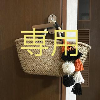 ニコアンド(niko and...)の専用☆ニコアンド かごバッグ(かごバッグ/ストローバッグ)