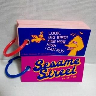 SESAME STREET - 【送料込み】セサミストリート 単語帳 2冊